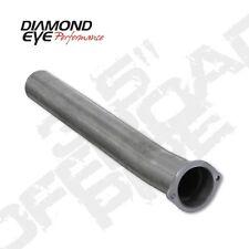 "Diamond Eye 125032 3.5"" Intermediate Pipe, Alum, Off-Road, For 03-07 Ford"
