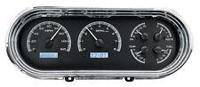 Dakota Digital 63 64 65 Chevy Nova Analog Dash Gauges Black White VHX-63C-NOV