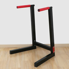 Dip Station Machine Self Standing Dip Bar Stand Bicep Tricep Exercise 400lbs