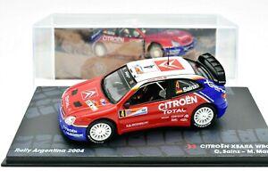 MODELLINO AUTO RALLY RALLYE SCALA 1:43 CITROEN XSARA WRC DIECAST MODELLISMO ASTA