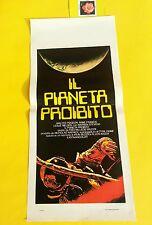 L208 IL PIANETA PROIBITO ( FORBIDDEN PLANET) - FANTASCIENZA , LOCANDINA