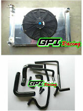 Aluminum Radiator +Shroud +fan+BL HOSE Holden V8 Commodore VG VL VN VP VR VS MT