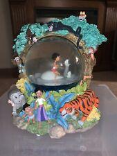 Disney The Jungle Book II Musical Snowglobe The Bear Necessities Rare Retired
