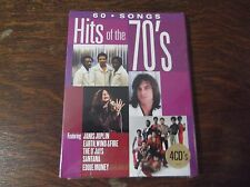 Hits of the 70's CD - 4 CD Set - 60 Songs - Original Artists - New Condition