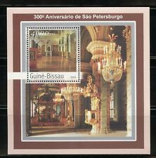 GUINEA BISSAU 2003 300th ANNIVERSARY OF ST. PETERSBURG SET OF TWO SHEETS & S/S