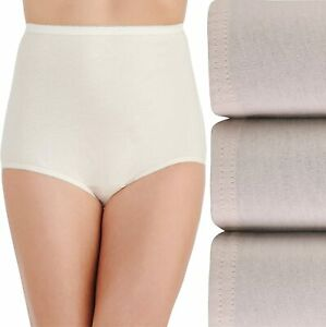 Vanity Fair Women's Underwear Perfectly Yours Traditional Cotton Brief Panties
