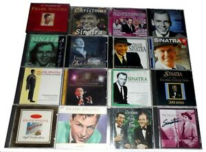 16 x FRANK SINATRA CD ALBUMS JOB LOT BUNDLE