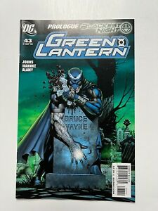 Green Lantern #43, Vol. 4 - 1st Black Hand/Black Lantern (DC Comics, 2009) VF+