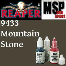 MOUTAIN STONE 9433 - MSP 15ml 1/2oz paint pot peinture figurine REAPER MINIATURE