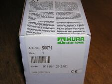 NEW - MURR 56671 Cube67 I/O Cable-Module DI16/DO16 Open-End 0.5m factory sealed