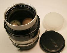 vintage Nikon Nikkor P Auto 10.5cm f2.5 N/Ai manual focus lens Excellent