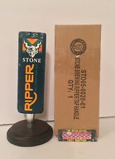 """Stone Ripper San Diego Pale Ale Beer Tap Handle 8"""" Tall - Brand New In Box!!"""