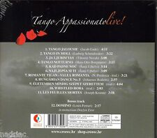 TANGO APPASSIONATO CD Live Jacob Gade Draze Eror Joseph Kosma Johannes Brahms
