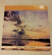 Nature's Serenity CD Guitar Rain Showers New
