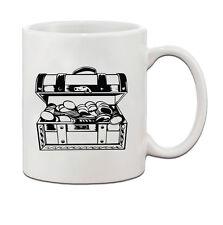 PIRATE TREASURE Ceramic Coffee Tea Mug Cup 11 Oz