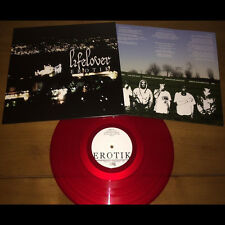 Lifelover - Erotik VINYL (BLOOD RED) Hypothermia Shining Psychonaut 4 Amesoeurs