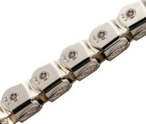 "KMC KK710 Kool Knight 1/2x1/8"" Chain COVERED Half Link  BMX 112 links"