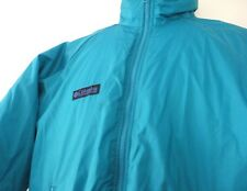 Columbia Youth Winter Coat 18/20 Teal Ski Jacket No Hood