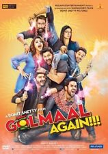 GOLMAAL AGAIN DVD - AJAY DEVGN, PARINEETI CHOPRA - 2017 BOLLYWOOD MOVIE DVD