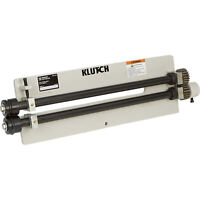 Klutch Vise-Mounted Slip Roller - 18-Ga. Capacity