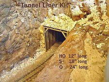 TIMBER TUNNEL LINER / SNOWSHED O On30 Model Railroad Structure Unptd Kit GMTLO