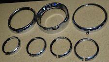 Harley Davidson Passing Lamp Trim Rings 69622-99A.69622-99B.69626-99.69627-99