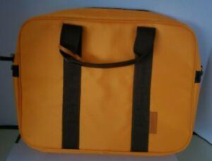 Veuve Clicquot Laptop Computer Bag Commuter Messenger City Case with Brown Sack