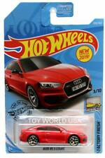 2019 Hot Wheels #225 Factory Fresh Audi RS 5 Coupe red