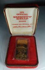 Rare Emmett Kelly Sr Limited Edition 1973 One Ounce Bronze Ingot
