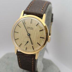 Vintage Gruen 310R 10.925 Men's manual winding watch 17Jewels swiss made 1960s