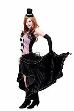Kostüm Damenkostüm Burlesque Can-Can Girl Saloon Tänzerin burlesk L056 38 (S) [3