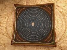Ceramic Square Plate by Country Originals - Blue Medium