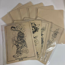 Tattoo Practice Skin CHOOSE SIZE & QUANTITY Blank Learning Machine Supplies Kit