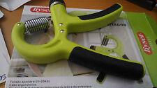 Aparato de musculación para la mano y muñeca ajustable en tensión 5-20 Kg.