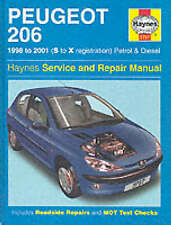 Haynes Manual Peugeot 206 98-01 Petrol Diesel Brand New SEALED 3757