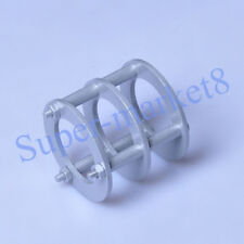 1pc Tube Guard Protector Cover Aluminum Silver 12AX7 6922 5687 ECC82 12AT7 Amp