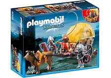 Playmobil Medieval Knights 6005 Carro de Heno con Caballeros, Pastor, Nuevo, New
