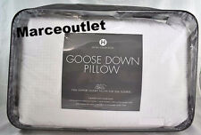 Hotel Collection European White Goose Down KING Pillows Firm Support