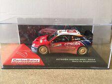 "DIE CAST "" CITROEN XSARA WRC - 2004 RALLY DE ARGENTINA "" CARLOS SAINZ SCALA 1/43"