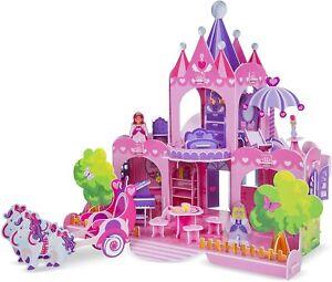 Melissa & Doug Pink Palace 3-D Puzzle