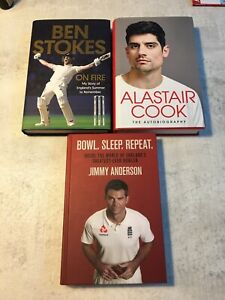 Cricket Books X 3 Stokes Anderson Cook Mint Condition