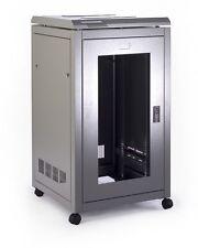 Prism - PI Data Cabinet 18U 600 Wide X 800 Deep - Glass Door