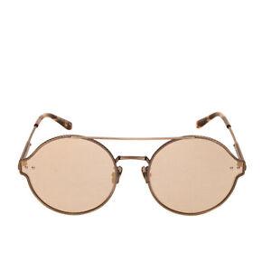 RRP €305 BOTTEGA VENETA Pilot Sunglasses Mirrored Lenses by Zeiss Made in Japan