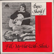 DAVE SHERIFF - FILL MY HAT WITH SILVER - LP w/ press photo - Tank Records BSS302