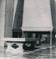 PORTUGAL c. 1950 - Table Cheminée des Cuisines Monastère d'Alcobaça - Div 10372