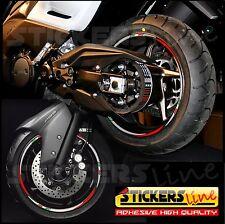 Kit De Pegatinas Ruedas Motorrad TMAX 500 530 (RACING 3) T MAX 500 tiras
