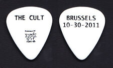 The Cult Brussels White Guitar Pick - 2011 Tour