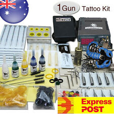 Tattoo Machine Beginner Kit  TattooGun 50 Needles & Ink Color