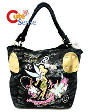 Disney TinkerBell Denim Shoulder Bag Grils Hand Bag  Square