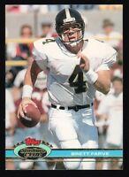 BRETT FAVRE ~ROOKIE~ 1991 STADIUM CLUB FOOTBALL CARD!!